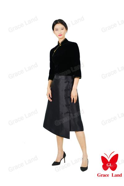 法国GL舜英如妍半裙