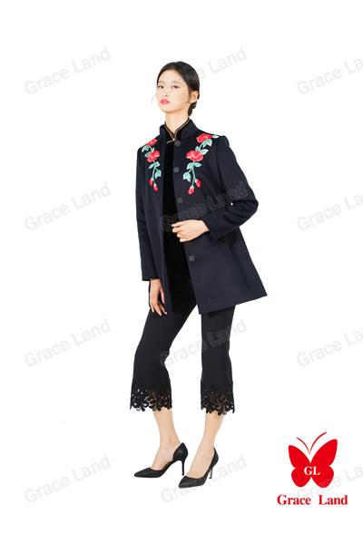 法国GL舜英如妍大衣
