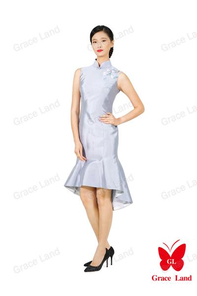 法国GL玉兰望春小礼服